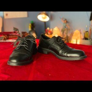 Black dress shoes never worn